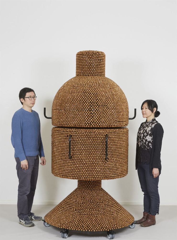 Yang Hae-gue's 'Sonic Coupe Copper ― Enclosed Unity' will be displayed at the Marron Atrium in the Museum of Modern Art's expanded campus opening on Oct. 21. Courtesy of the artist