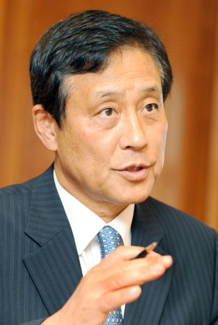 Hana Financial Group Chairman Kim Jung-tai