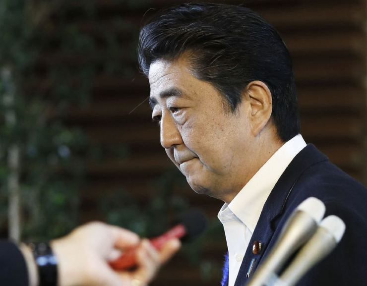 Japanese Prime Minister Shinzo Abe / AP