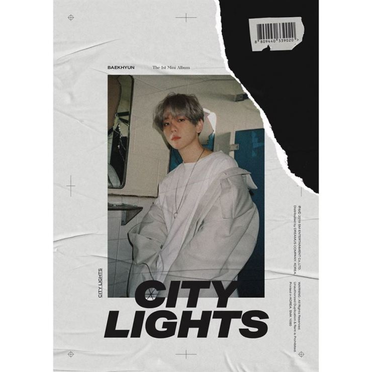 Baekhyun debuts as a solo performer with the mini-album 'City Lights' on July 10. Captured from Instagram @weareone.exo