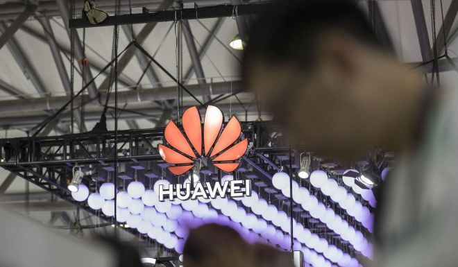A Huawei cell phone is refurbished in Lusignac, France. Media reports suggested the Chinese telecoms giant secretly collected personal data in the Czech Republic and helped North Korea build its wireless network. Reuters