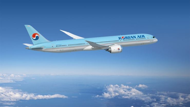 Korean Air's B787-10 / Courtesy of Korean Air