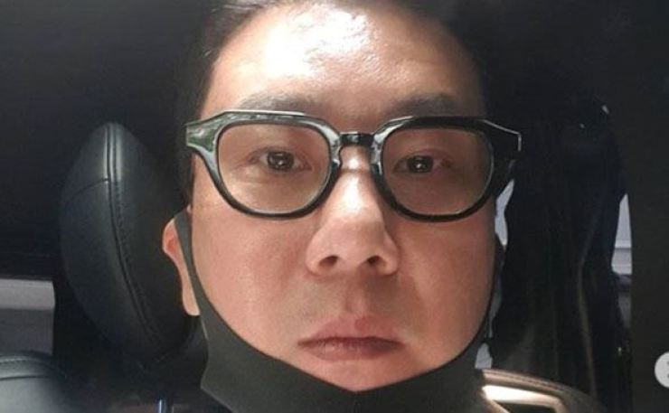 TV personality Lee Sang-min denied the fraud allegations raised against him. Capture from Lee Sang-min's Instagram