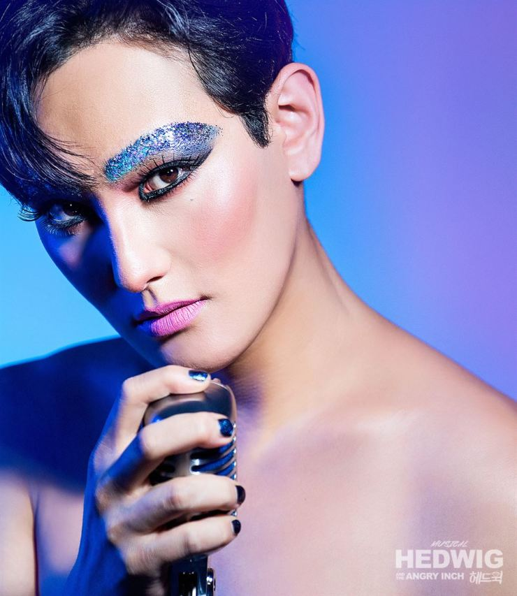 Kangta will play Hedwig in the musical 'Hedwig and the Angry Inch' starting Aug. 16 / Courtesy of Shownote