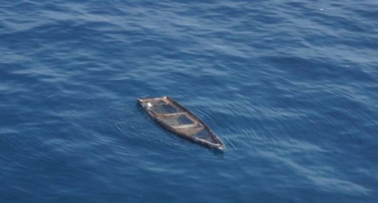 A small boat carrying three North Koreans crossed the inter-Korean maritime border in the East Sea and was towed into a South Korean port for investigation, the Joint Chiefs of Staff said Sunday. Courtesy of Joint Chiefs of Staff