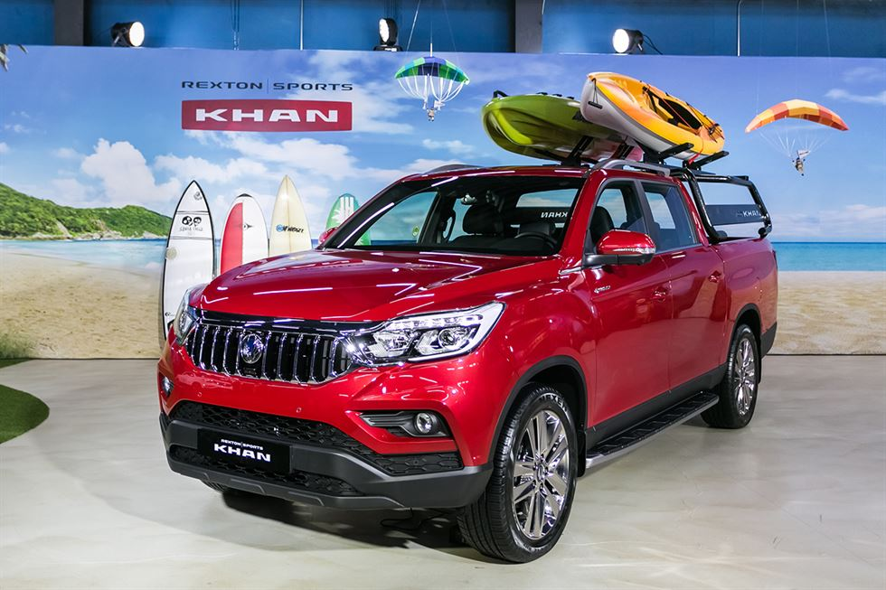 SsangYong Motor's Rexton Sports / Courtesy of SsangYong Motor