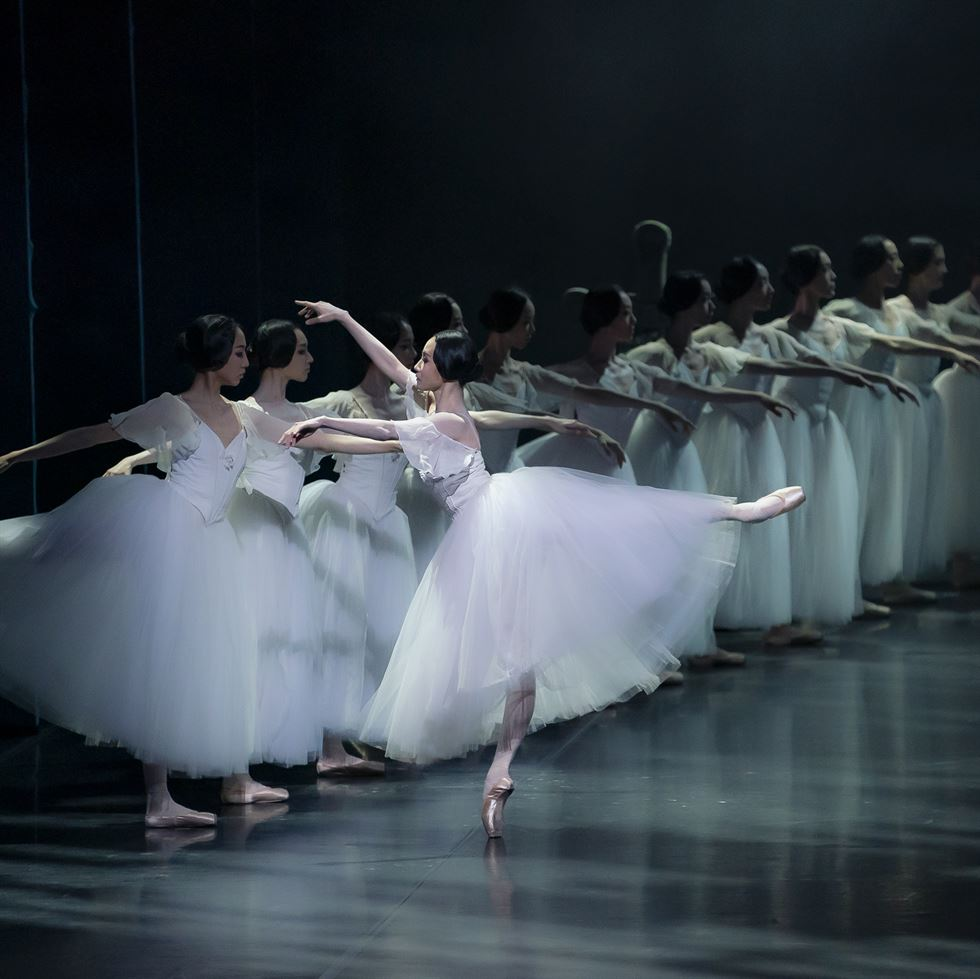Prima ballerina Kim Ji-young bows after performing 'Giselle' at the Seoul Arts Center on June 23. Courtesy of Korean National Ballet