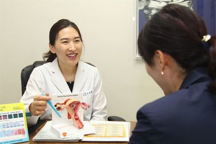 Human papillomavirus (HPV) infection can be drastically reduced by vaccination, a study showed. Korea Times file