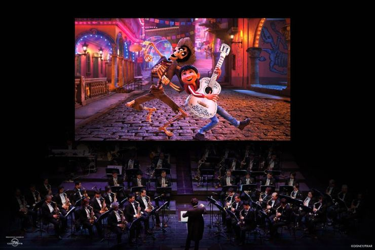 '2019 Disney-Pixar Film Concert Festival' presents three evening concerts at 7:30 p.m. from July 24-26 at Lotte Concert Hall in southern Seoul. Courtesy of Disney Concerts