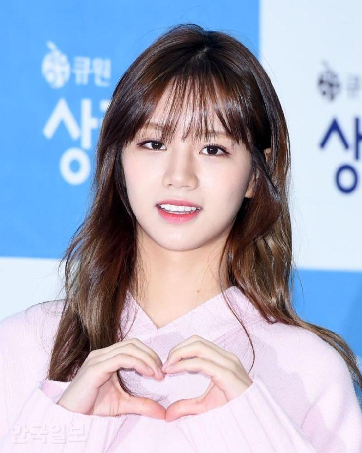 Hyeri of K-pop girl band Girl's Day. Korea Times file