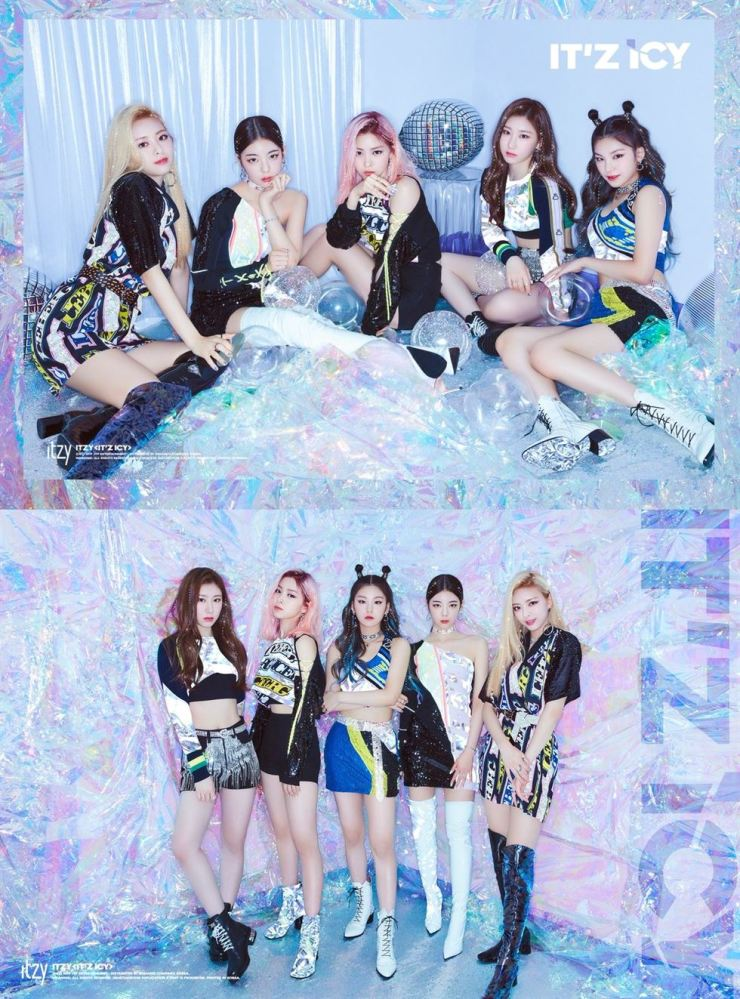 JYP girl band ITZY has revealed two photo teasers of its comeback album, 'IT'z ICY,' which will be released on July 29. From the band's official twitter account @ITZYofficial