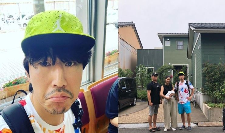 Lee Si-eon's controversial selfie. Captured from Instagram @lee_si_eon