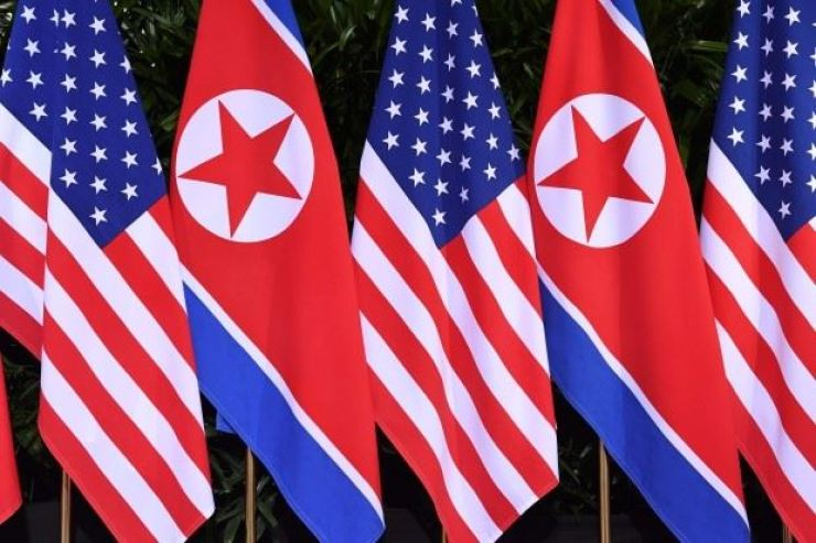 The United States has sanctioned three shipping firms for allegedly engaging in illicit ship-to-ship transfers of refined petroleum goods to North Korea. Yonhap