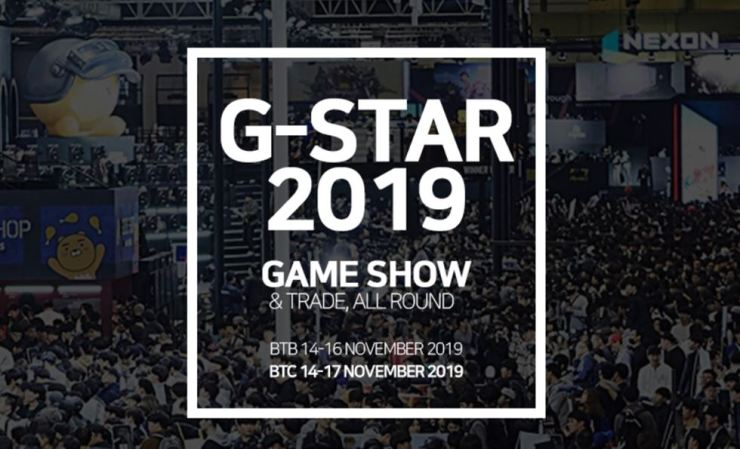 G-Star 2019 is scheduled to take place for four days from Nov. 14, but the annual event is expected to be less appealing this time as the largest game company Nexon will not participate. / Captured from G-Star website