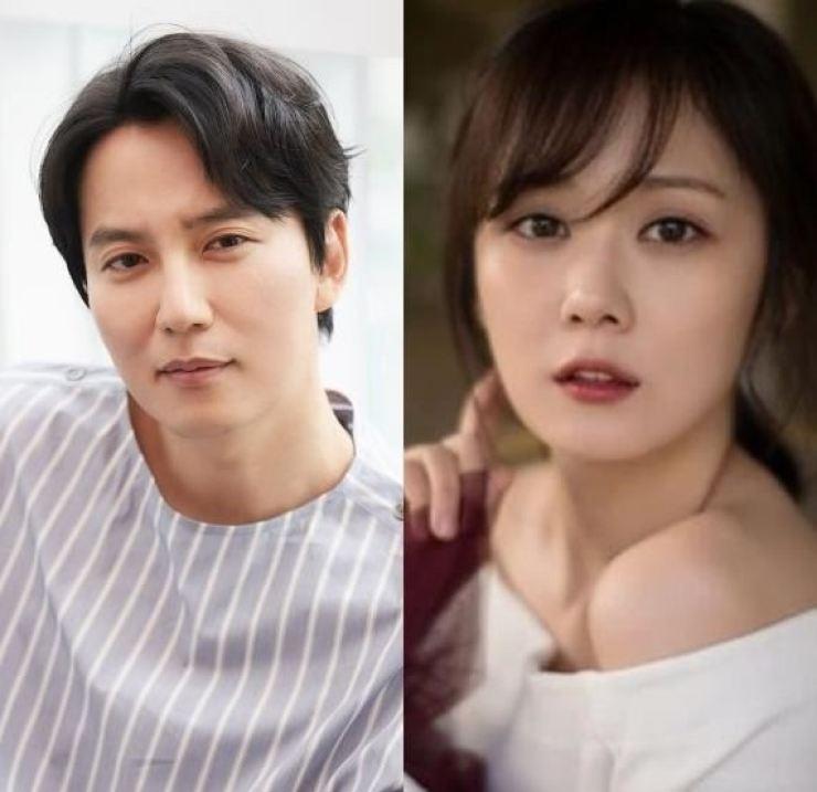 Kim Nam-gil, left, and Jang Na-ra. Courtesy of C-JeS Entertainment, Lawon