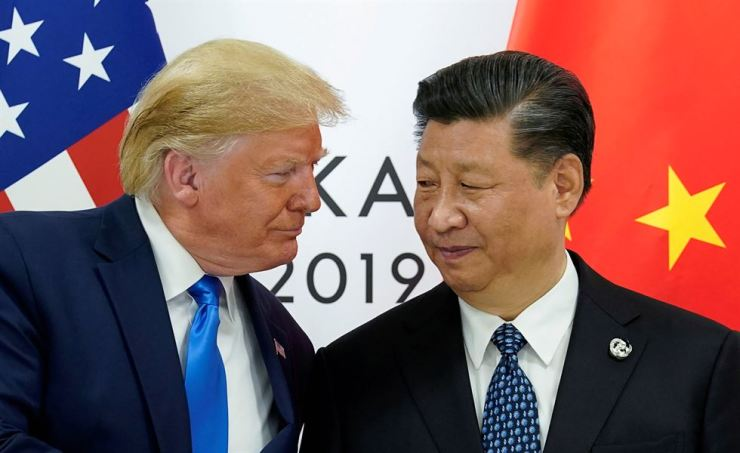 U.S. President Donald Trump meets with China's President Xi Jinping at the start of their bilateral meeting at the G20 leaders summit in Osaka, Japan, June 29. Reuters