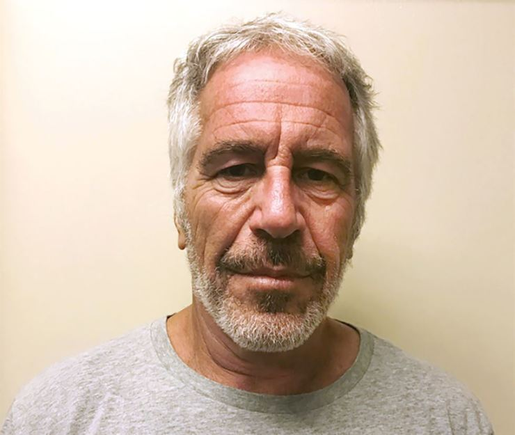 This March 28, 2017, file photo provided by the New York State Sex Offender Registry shows Jeffrey Epstein. Newly released court documents show that Epstein repeatedly declined to answer questions about sex abuse as part of a lawsuit. AP