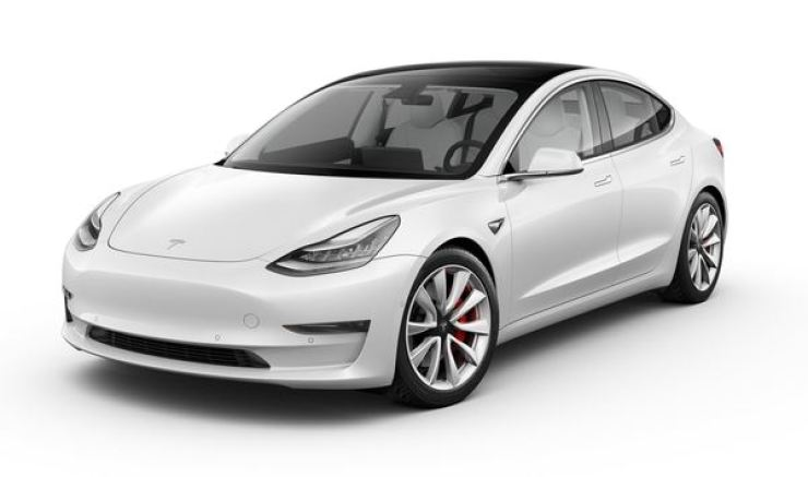 Tesla's Model 3 / Courtesy of Tesla