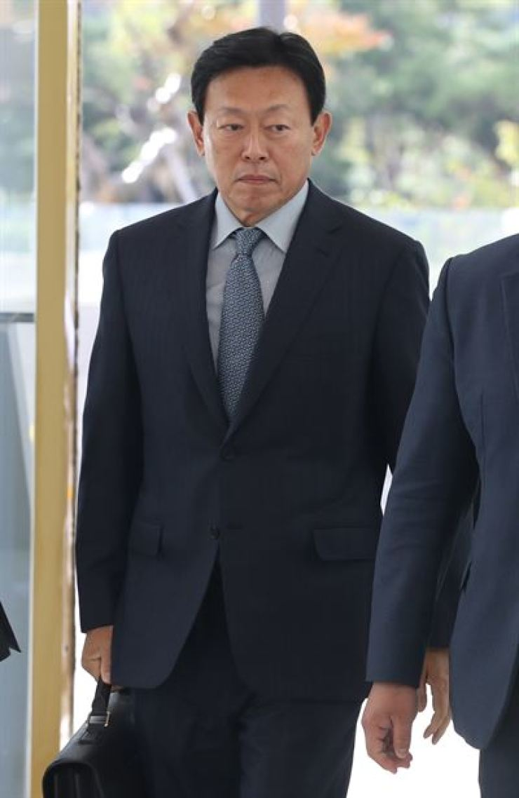 Lotte Group Chairman Shin Dong-bin / Korea Times file