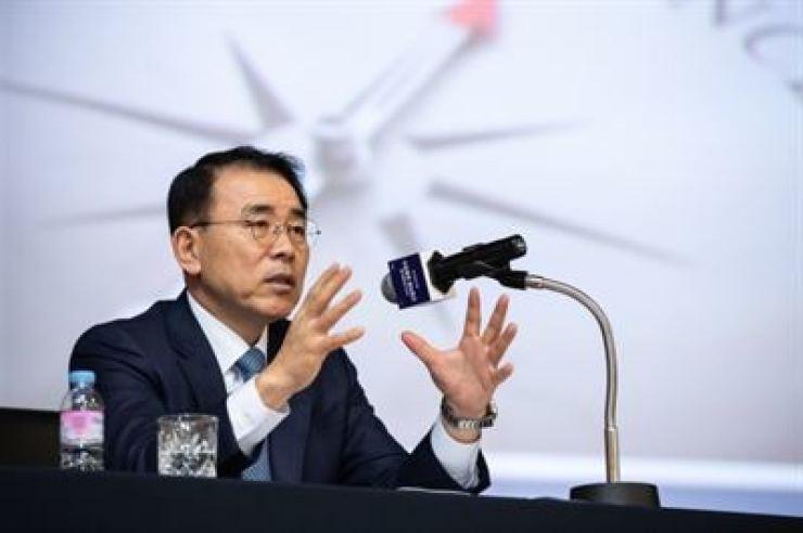 Shinhan Financial Group Chairman Cho Yong-byung / Courtesy of Shinhan Financial Group
