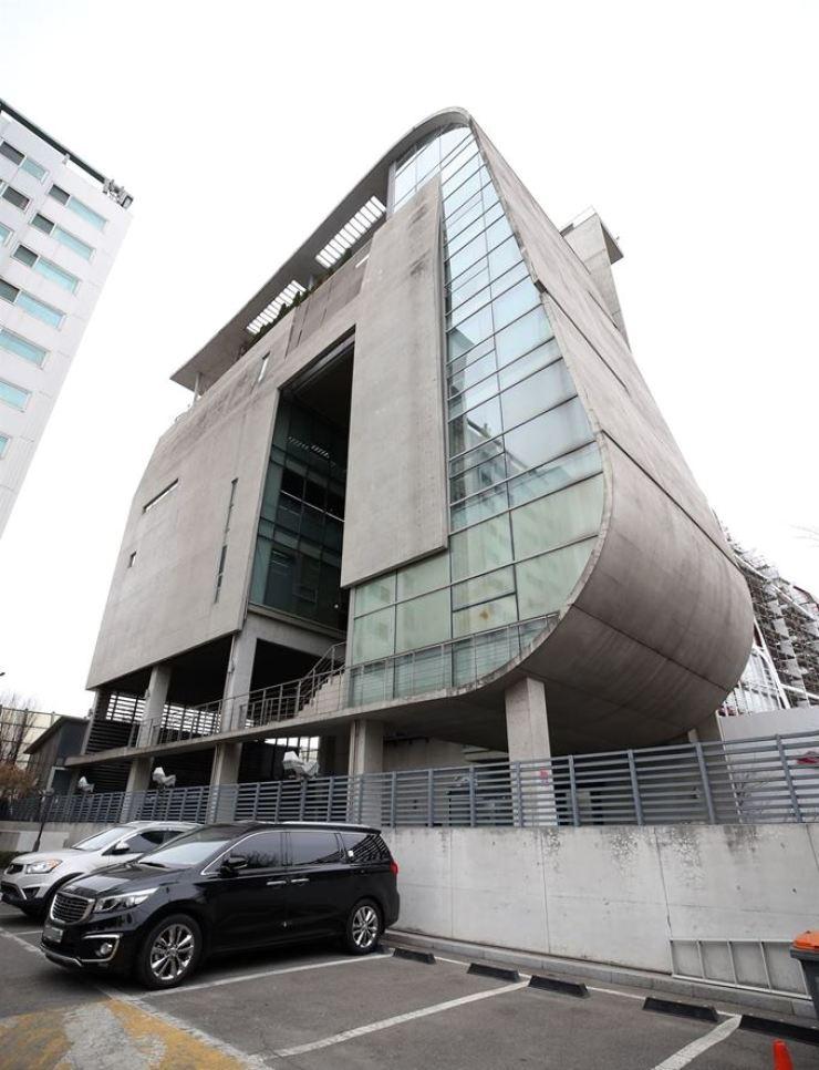 YG Entertainment headquarters, Mapo-gu, Seoul / Yonhap
