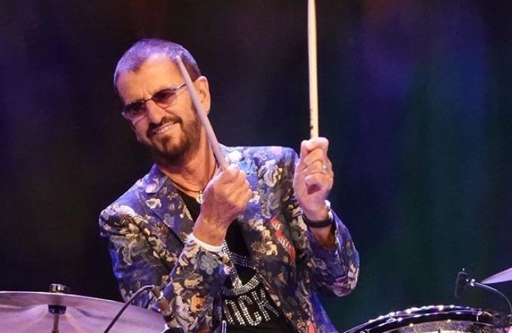 Ringo Starr. Capture from Instagram (@ringostarrmusic)