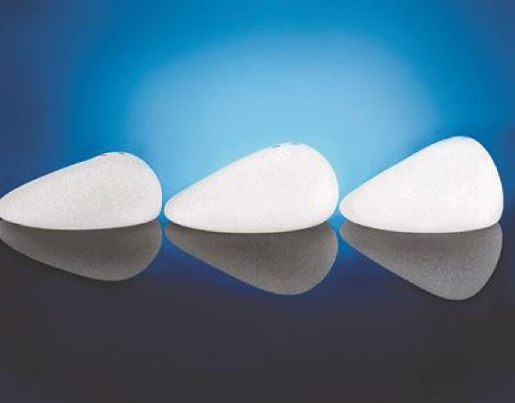 Breast implants manufactured by Allergan / Captured from Allergan Korea website