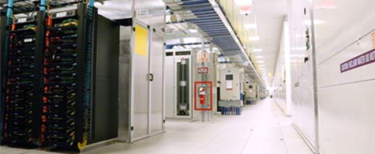 A data center of Amazon Web Services (AWS) / Courtesy of AWS