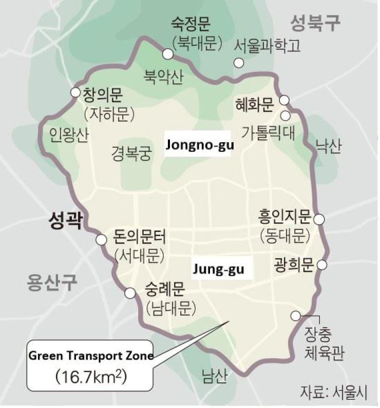 Green Transport Zone / Courtesy of Seoul Metropolitan Government
