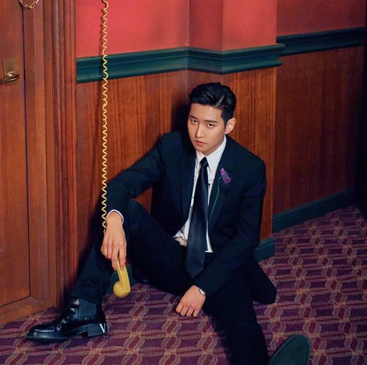 Idol rapper B-Bomb will release another single, 'Love Song,' on Friday evening. Capture from Instagram @bbomb2011