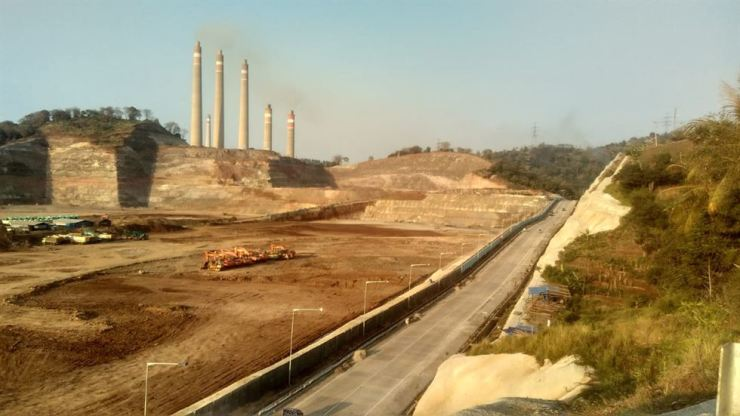 The site for the two coal-fired power plants at Cilegon in Banten Province, Indonesia. Courtesy of Solutions for Our Climate