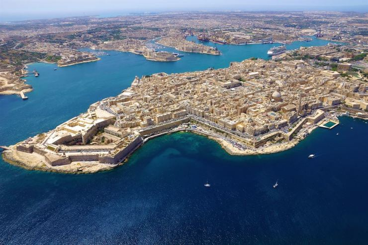 Valletta, Malta Courtesy of Malta Tourism Authority