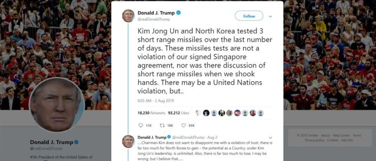 Kim Jong-un pays attention to Trump's tweets