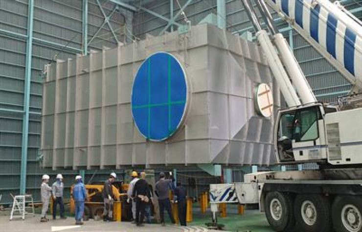 POSCO's SOx scrubber steel developed for use in seawater / Courtesy of Hyundai Heavy Industries Power System