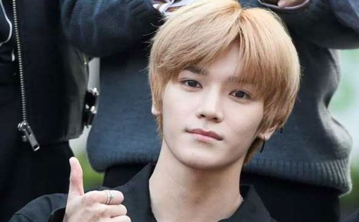 Taeyong is a member of K-pop boy band NCT. Korea Times file