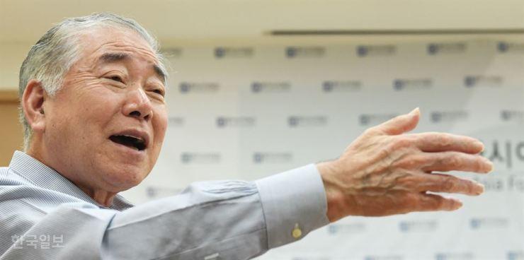 Moon Chung-in. Korea Times file