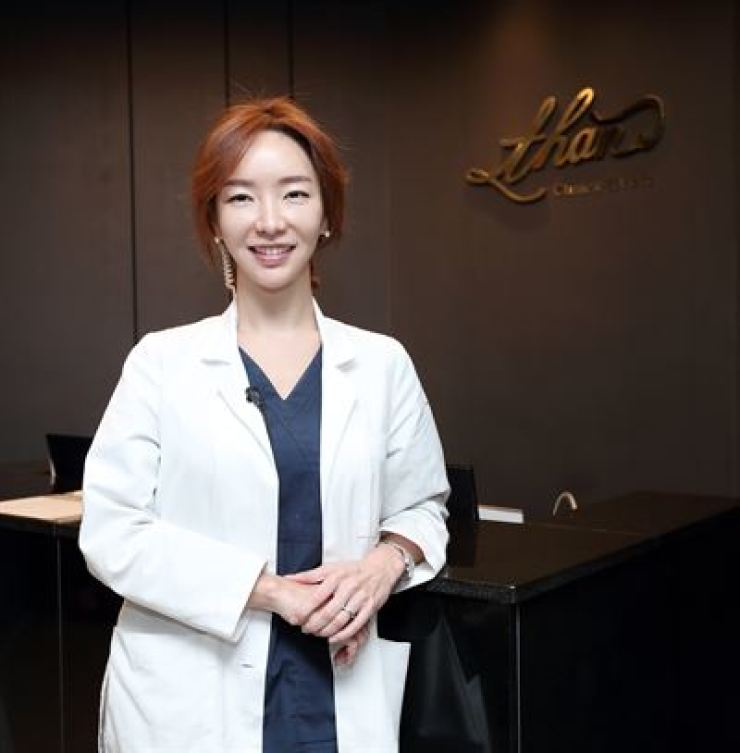 Son Min-jeong, the dermatologist at Than Clinic / Courtesy of Than Clinic