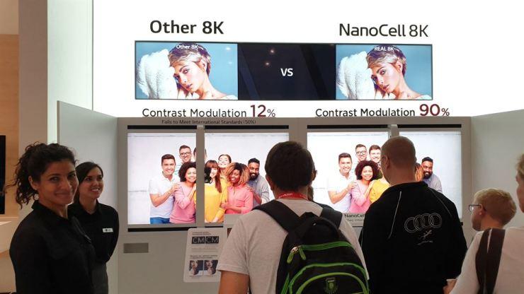 Samsung's 8K TV 'does not meet industry standards'