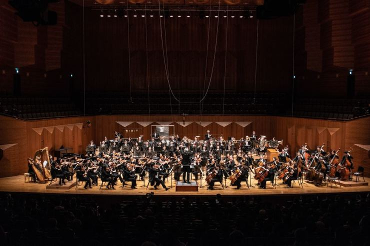 Seoul Philharmonic Orchestra (SPO) will hold special tour concerts in Russia, on Oct. 4, 7 and 8 in the cities of St. Petersburg, Ekaterinburg and Moscow. Courtesy of Lee Won-hee, SPO