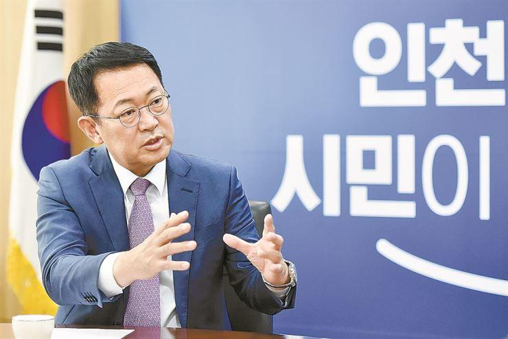 Incheon Mayor Park Nam-choon