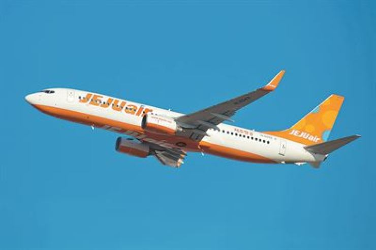 A Jeju Air aircraft