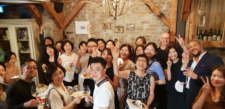 A group photo at an IPAC event / Courtesy of Park Chan-ju
