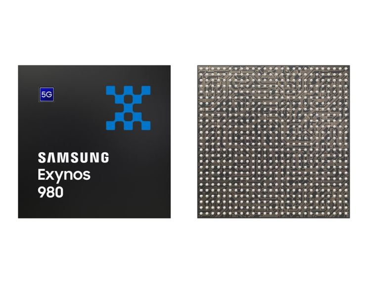 Samsung Electronics' latest mobile processor, the Exynos 980 / Courtesy of Samsung Electronics