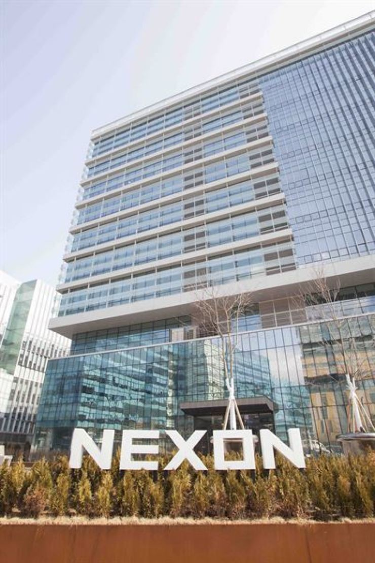 Nexon Korea's building in Pangyo, Gyeonggi Province. / Courtesy of Nexon Korea