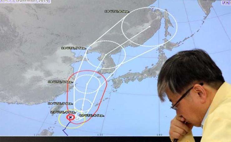 Typhoon Lingling is barreling toward the Korean Peninsula.