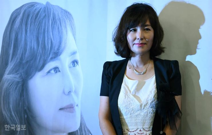 Novelist Gong Ji-young. Korea Times file