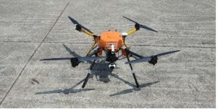 'Ambulence drones' will be introduced at 16 national mountain parks next year. Yonhap