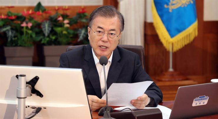 South Korean President Moon Jae-in will open a busy tour of Thailand, Myanmar and Laos on Sunday. Yonhap