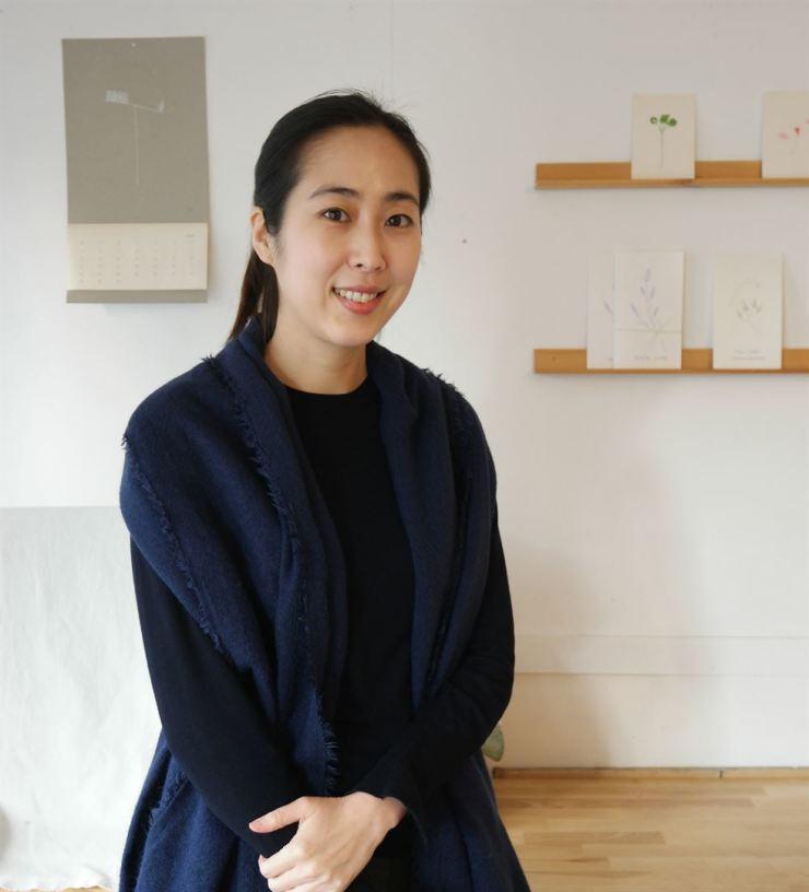 Chung Da-woon in her cafe/ Courtesy of Chung Da-woon