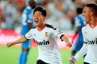 S. Korean teen scores 1st La Liga goal in 1st start